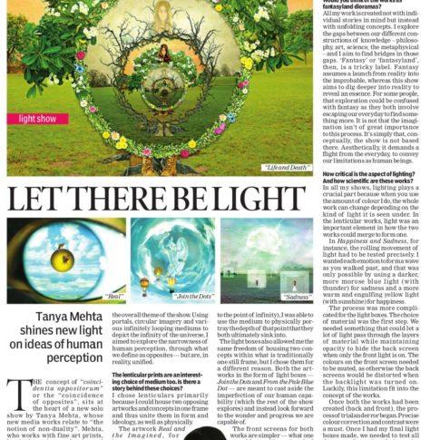 New Indian Express, Indulge _ 23rd Jun 2017